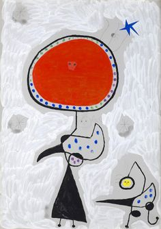 Successió Miro is an entity formed by the heirs to the estate of Joan Miró which administrates the rights of the artist's works. Joan Miro Pinturas, Miro Artist, Moon Shadow, Homemade Art, Spanish Painters, 3d Studio, Kandinsky, Mondrian, Drawing For Kids