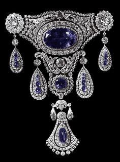 The Sapphires Agraffe of Grand Duchess Marie Pavlovna, 1910