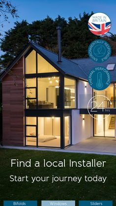 Origin sell through a Nationwide network of trade partners, to find your local Premium Partner and for quotes click on this pin. House Extension Plans, House Extension Design, Tiny House Design, Extension Ideas, Home Building Design, Building A House, Blythe House, Barn House Conversion, House Cladding
