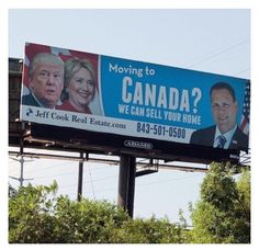 "This is so funny Moving to Canada? We'll can sell your home Bro me and my friends be like ""If trump (no capital ""t"" because he doesn't deserve it."") gets elected wee moving to Canada Funny Shit, Funny Cute, Funny Posts, The Funny, Hilarious, Funny Stuff, Funny Memes, Real Estate Humor, Moving To Canada"
