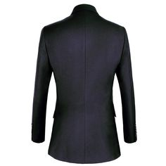 Men Suit Slim Fit New Fashion Double Breasted Peak Lapel Formal Costum – Kidenhome