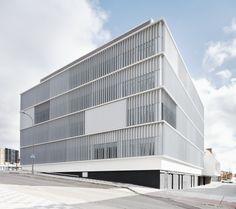 Health Center & Provincial Headquarters, Cuenca Cuenca, Spain FIRM. BAT - Bilbao Architecture Team #architecture