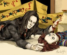 Child's Play - Charles finds Chucky by HumanPinCushion