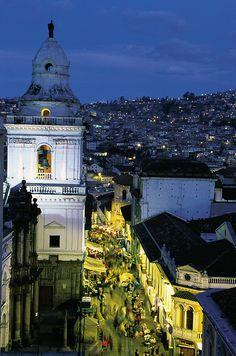 Quito, Ecuador http://www.southamericaperutours.com/southamerica/12-days-wonders-of-machu-picchu-and-galapagos.html