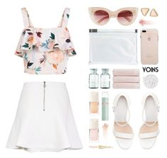 """yoins"" by ruska-10 ❤ liked on Polyvore featuring New Look, Christy, La Mer, Zara, Maison Margiela, MINKPINK, VIPP and NARS Cosmetics"