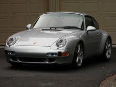 1996 993 C4, Polar Silver on Black
