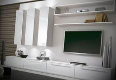 Sala com móveis planejados - http://www.dicasdecoracao.com/sala-com-moveis-planejados/