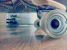 Longboard wheel