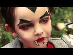 Dracula Vampire Makeup Tutorial Halloween - YouTube
