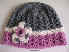 Ravelry: Sense Of Spring Hat pattern by TheMagicOfCrafting