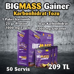 Bigjoy Bigmass Gainer Kilo Aldırıcı Toz 5000 gram
