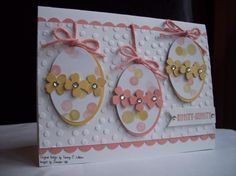 Hippity-Hoppity by Tammy C. Wilson - Hippity-Hoppity by Tammy C. Easter Projects, Easter Crafts, Diy Easter Cards, Karten Diy, Diy Ostern, Scrapbooking, Paper Cards, Homemade Cards, Stampin Up Cards