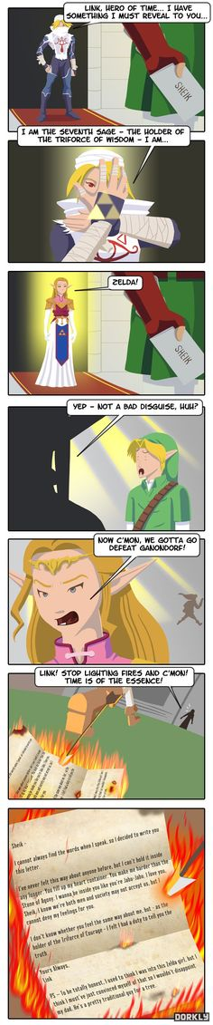 Its a Secret To Everybody #Dorkly #LegendofZelda