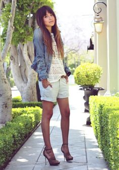 Pantalon color+denim