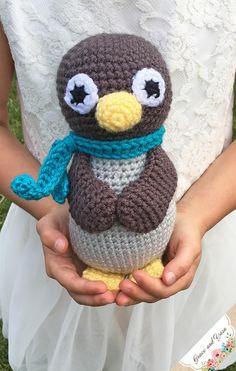 Amigurumi Penguin - A Free Crochet Pattern | Grace and Yarn