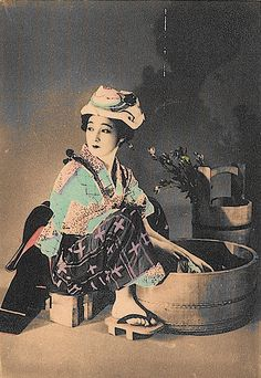 Japanese housewife by StevieB44