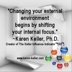 Isn't it time to shift your internal focus? #influence