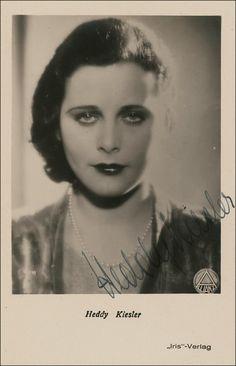 Heddy Kiesler aka Hedy Lamarr