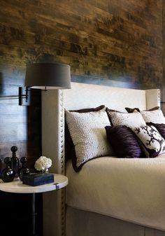 wood flooring on the wall!