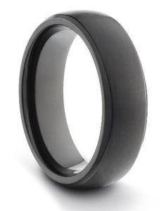 6MM Titanium Ladies/Mens/Unisex Black Brushed & Polished Comfort Fit Wedding Band Ring (Available Sizes 4-11 Including Half Sizes) TWG Titanium. $29.95. Comfort Fit Design. Aerospace Grade Titanium. Lightweight & Durable. 60 Day Money Back Guarantee. Hypo-Allergenic