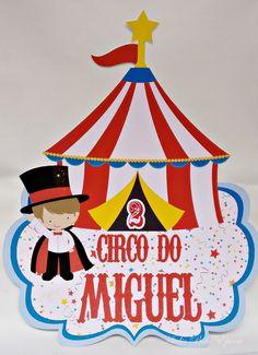 Placa - circo