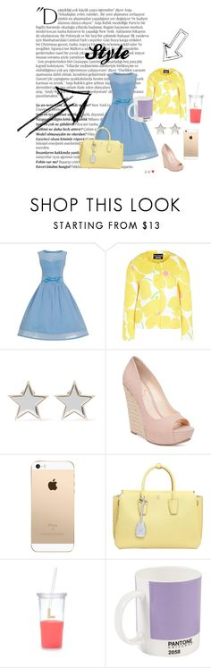 """""""Style"""" by stylekittybeauty on Polyvore featuring moda, Balmain, Boutique Moschino, Givenchy, Jessica Simpson, MCM, Kate Spade e W2 Products"""