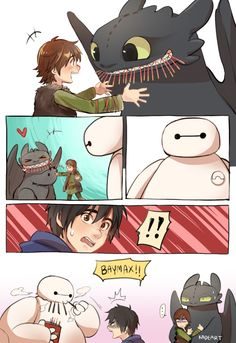 Crossover BH6 - HTTYD