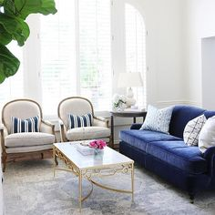 Gorgeous Blue-and-White Designs