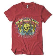 "T-Shirt men ""love and pride"" von MAD IN BERLIN auf DaWanda.com"