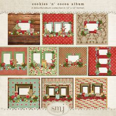 Cookies 'n' Cocoa Album | Shabby Miss Jenn Designs