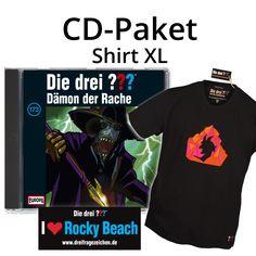 Die drei Fragezeichen - Die drei ???: Die drei ??? CD-Paket: Folge 173 + Shirt XL + Aufkleber