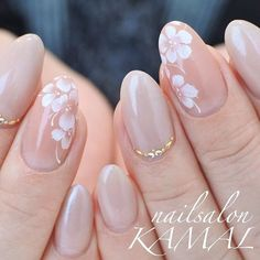 graduation ceremony Spring / All season / Graduation ceremony / Office / Hand-nailsalon KAMAL nail design. Classy Nails, Stylish Nails, Simple Nails, Cute Nails, Pretty Nails, Pink Nails, My Nails, Office Nails, Bridal Nail Art
