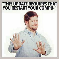 MAYBE TOMORROW... The last thing a #WebDesigner wants to see on a #Friday  #Website #WebDesign #eCommerce #OnlineMarketing #SEO #SocialMedia #SocialMediaMarketing #Marketing #WebHosting #Email #Business #SmallBusiness #Computer #Update #Apple #MacBook #WestVicWeb #Warrnambool #PortFairy #Portland #Koroit #Hamilton #Colac #Victoria #Australia #Meme #Funny by westvicweb