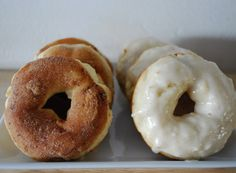 Pasta & Croissants - Baked Apple Donuts (Two Ways)