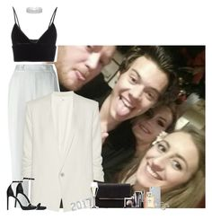 """""""New Year Party with Harry and friends"""" by fxrever-isnt-for-everyone ❤ liked on Polyvore featuring T By Alexander Wang, 3.1 Phillip Lim, Helmut Lang, Yves Saint Laurent, Red Herring, BCBGMAXAZRIA, Riedel, MICHAEL Michael Kors, Chanel and LORAC"""