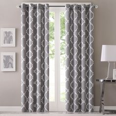 Refresh your room with the decorative fretwork window panel. The scroll geometric print is simple, yet trendy.