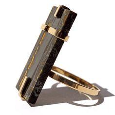 Yesim Yuksek for Alef   #alefjewelry.  gold ring.