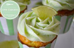 Limetten Cupcakes by bakerangel.com