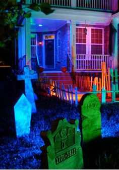 How To Create Spooky Halloween Lighting For Your Home In Minutes.lights by James Barker