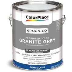 ColorPlace Grab-N-Go, Interior Paint, Flat Finish, Antique White ...