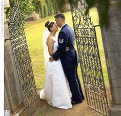 Military wedding in Hawaii.