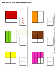 math worksheet : 1000 images about fraction workcheets on pinterest  learn html  : Free Fraction Worksheets For Grade 3