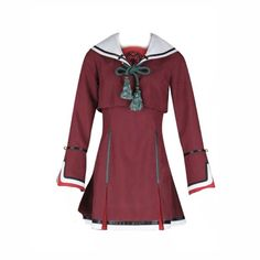 Hiiro no Kakera 3 Cosplay Costume -Kasuga Tamaki Winter School 2nd Large * Click image to review more details.