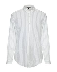 John Varvatos Men Striped Shirt on YOOX. The best online selection of Striped Shirts John Varvatos. John Varvatos, Second Hand Mode, Peter Pan Collars, Stripes, Shirts, Shirt Dress, Mens Fashion, Long Sleeve, Sleeves