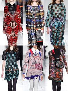 New York Fashion Week Womenswear Print Highlights Part 1 – Fall 2016