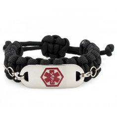 Elegant Medical Alert Id Braceletsparacordparachute Cord