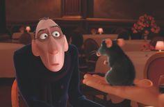 The Dapperest Disney Characters: Anton Ego from Ratatouille Walt Disney Pixar, Disney Love, Disney Magic, Disney Disney, Ratatouille Disney, Ratatouille 2007, Pixar Movies, Movie Characters, Childhood