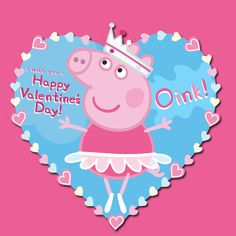 your loved ones will squeal over these peppa pig valentines - Valentine Pig