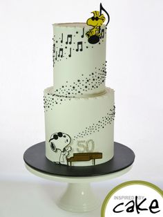 Musical Snoopy - Cake by Inspired by Cake - Vanessa