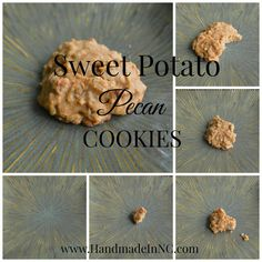 You'll love these soft, pillowy Sweet Potato Pecan Cookies honeysuckleafternoons.com